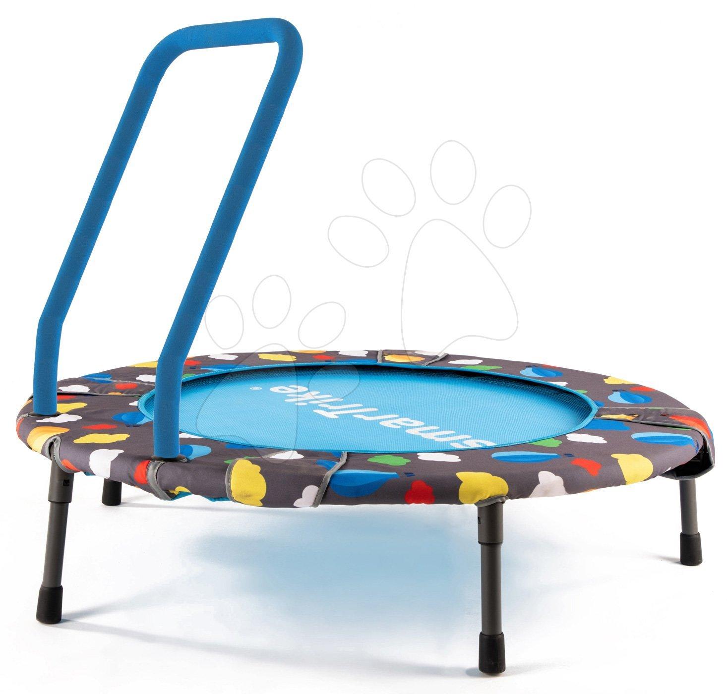 Trampolíny - Trampolína pre deti 3v1 Jump smarTrike priemer 90 cm s loptičkami od 10 mesiacov
