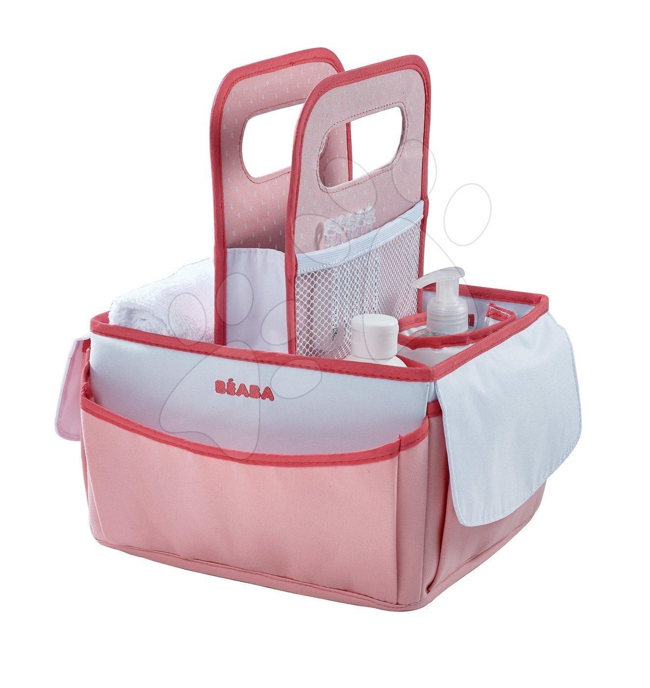 Kozmetický košík Beaba Nursery červený 920318