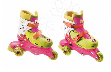 Detské kolieskové korčule - Kolieskové korčule Minnie Mondo inline veľkosť 29-32 od 5 rokov