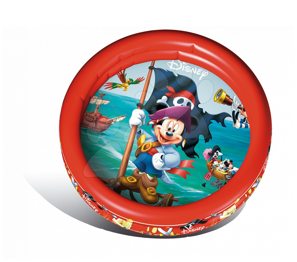 Piscină gonflabilă Mickey Mouse Mondo cu două inele 100 cm