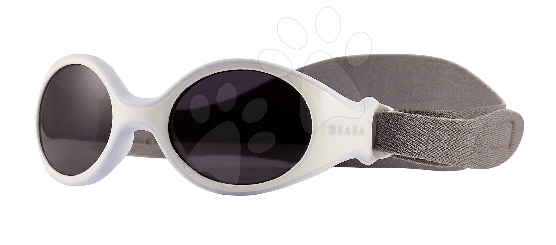 Slnečné okuliare pre novorodencov Beaba Clip strap XS UV filter 4 modré od 3 mesiacov