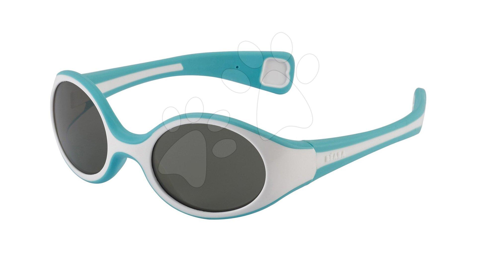Slnečné okuliare Beaba Baby S UV filter 3 tyrkysové od 9 mesiacov
