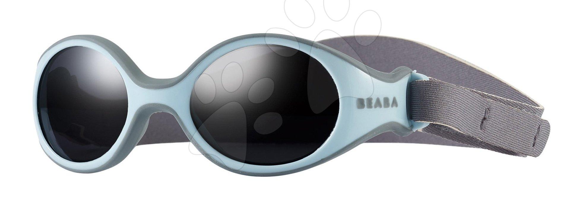 Slnečné okuliare pre novorodencov Beaba Clip strap XS šedé UV4 - zimné  930265 1636eabca5