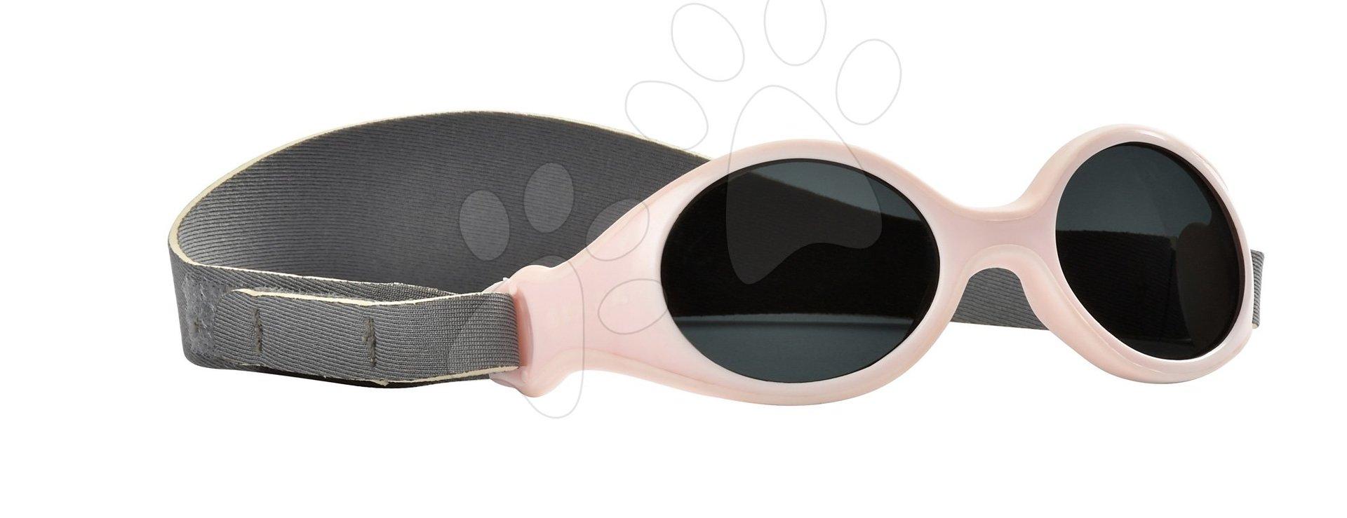Sluneční brýle pro novorozence Beaba Clip strap XS od 3 měsíců s UV filtrem 4 růžové