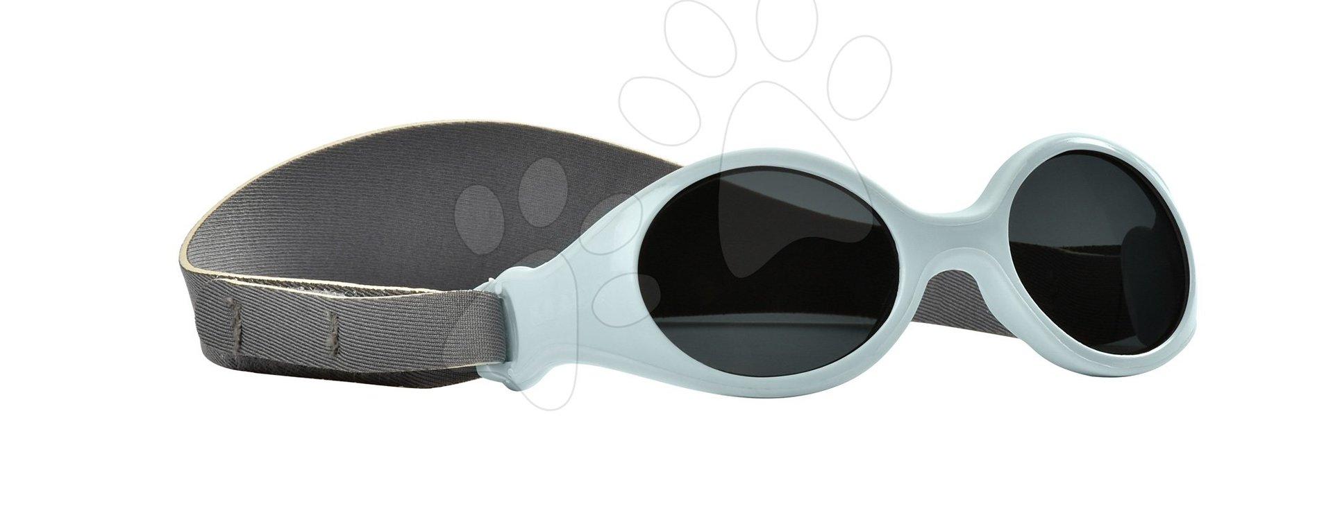 Sluneční brýle pro novorozence Beaba Clip strap XS od 3 měsíců s UV filtrem 4 modré