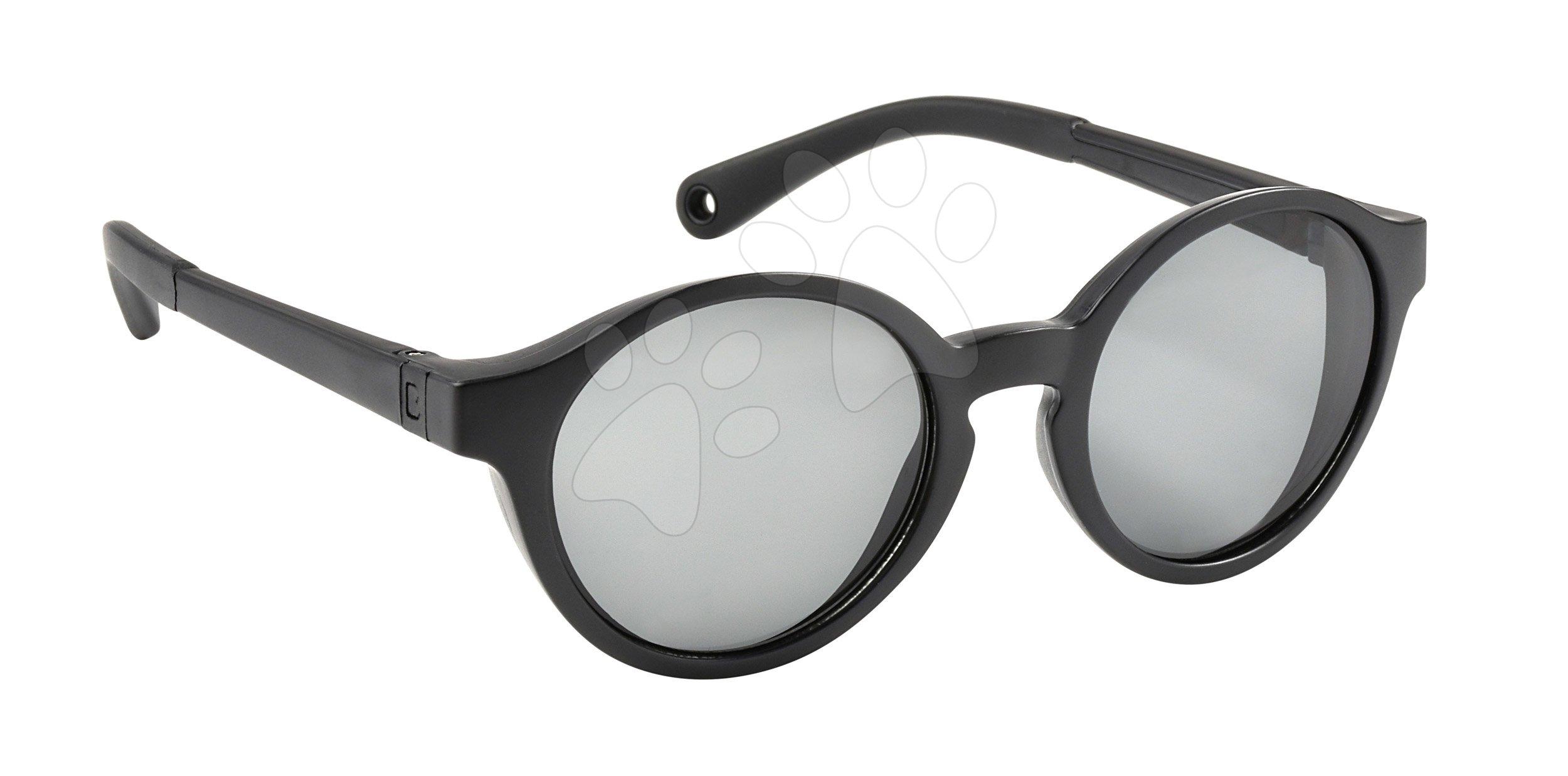 Slnečné okuliare pre deti Beaba Baby M Black od 2-4 rokov čierne