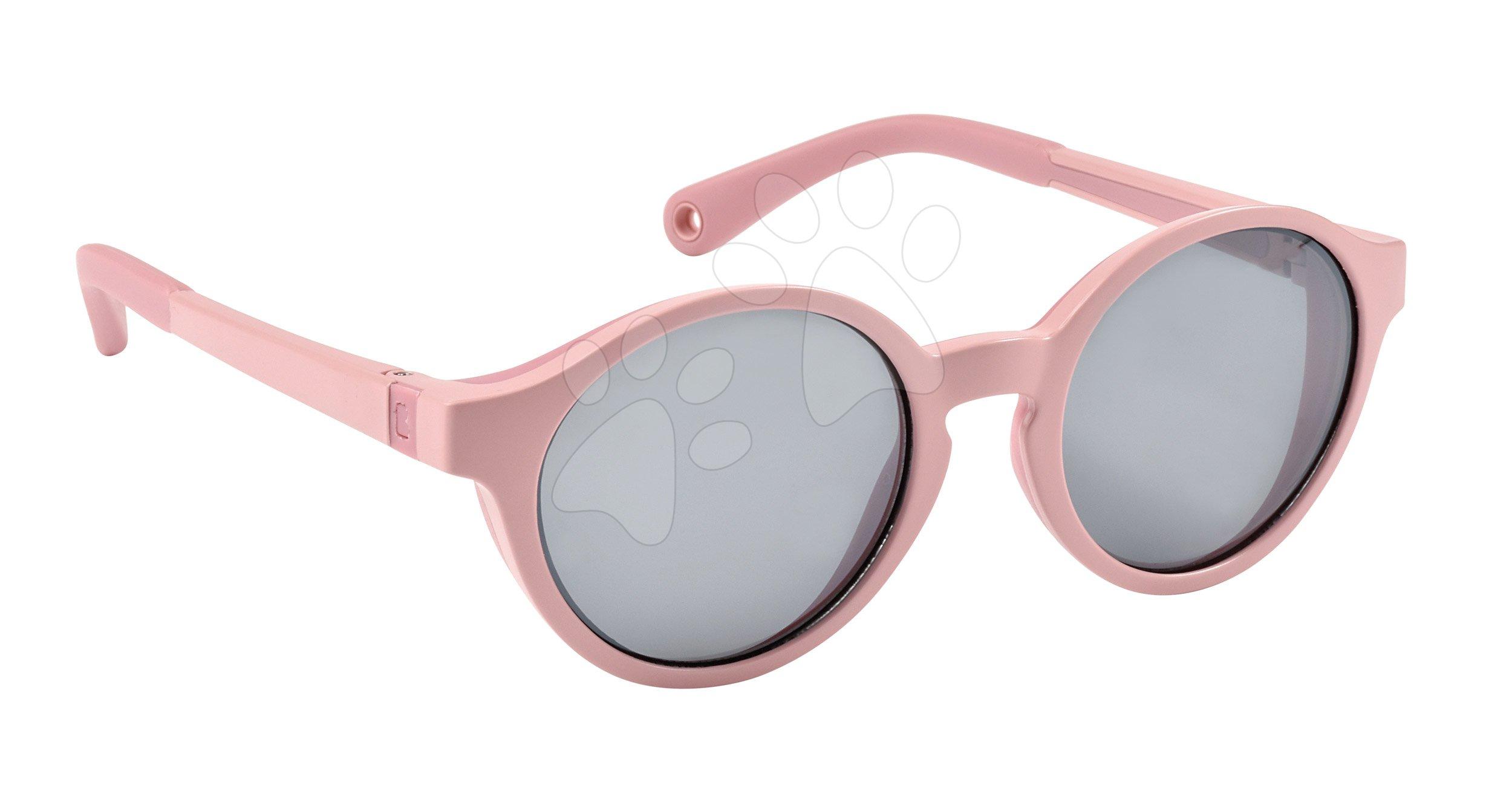 Slnečné okuliare pre deti Beaba Baby M Rose od 2-4 rokov ružové