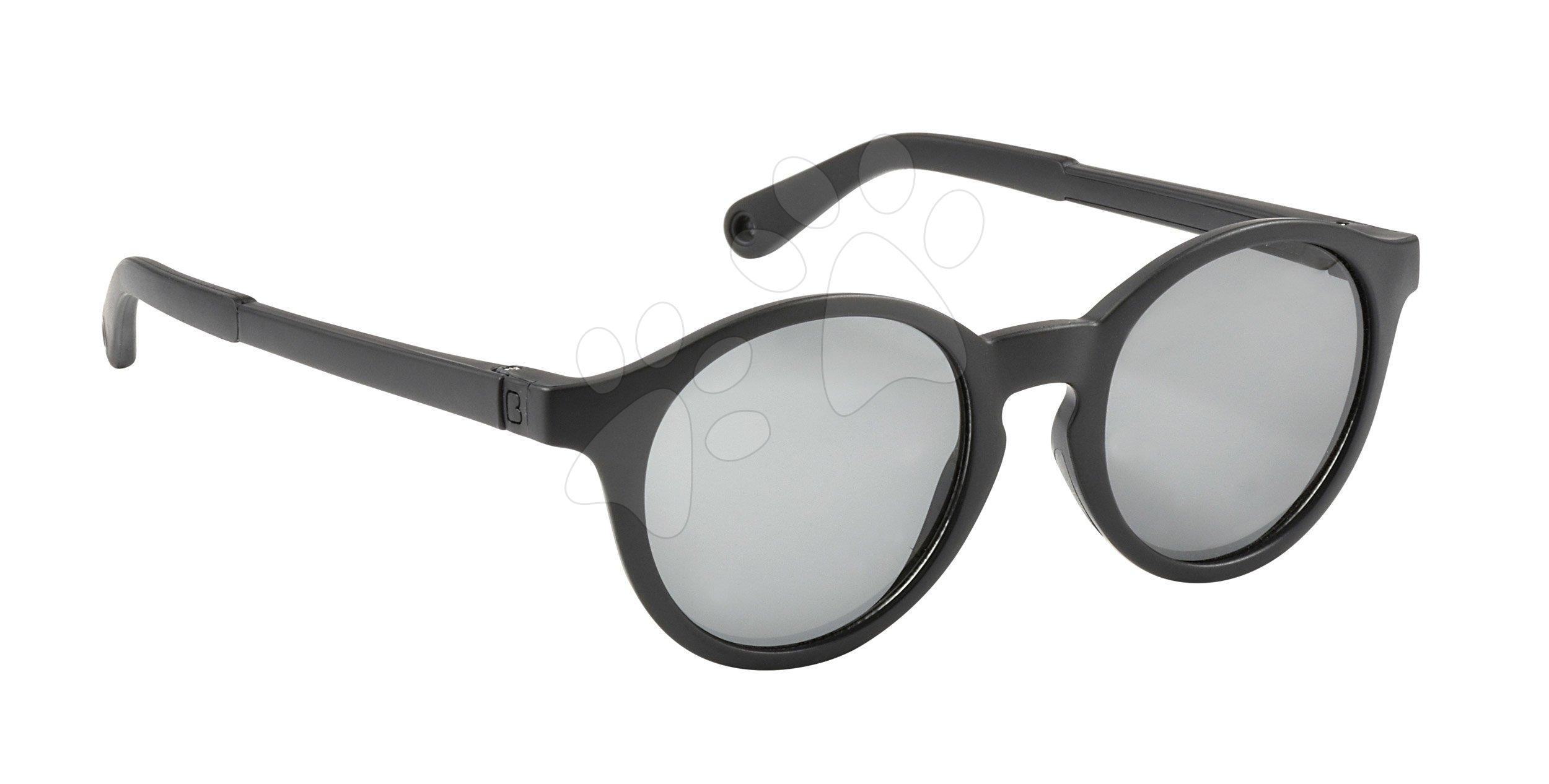 Slnečné okuliare pre deti Beaba Baby L Black od 4-6 rokov čierne