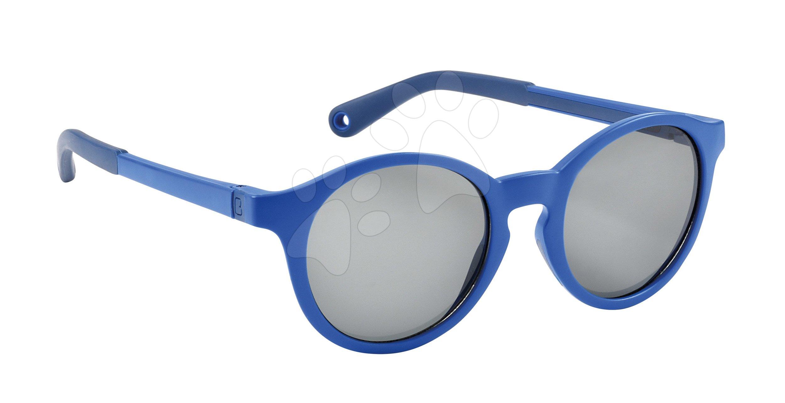 Slnečné okuliare pre deti Beaba Baby L Mazarine Blue od 4-6 rokov modré