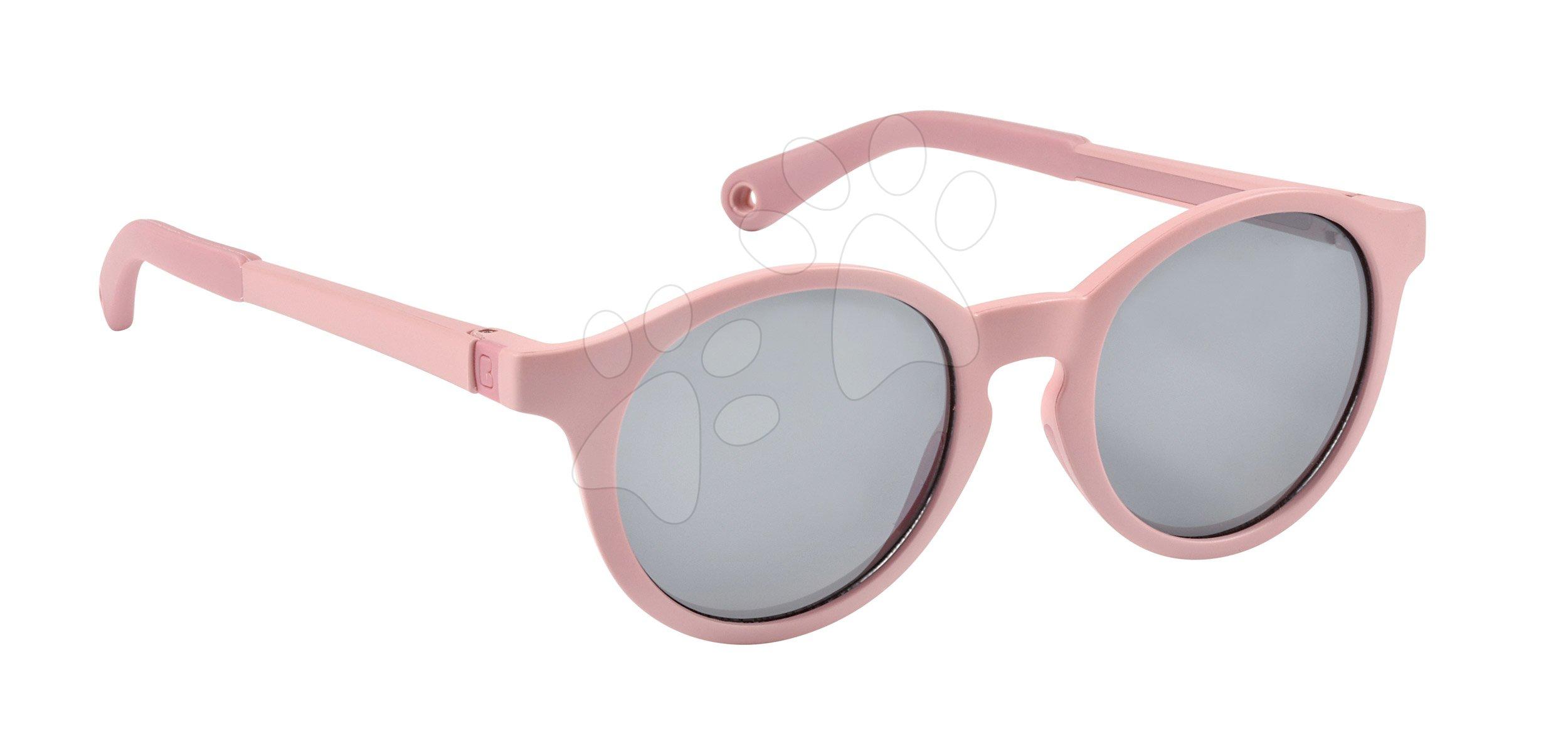 Slnečné okuliare pre deti Beaba Baby L Misty Rose od 4-6 rokov ružové