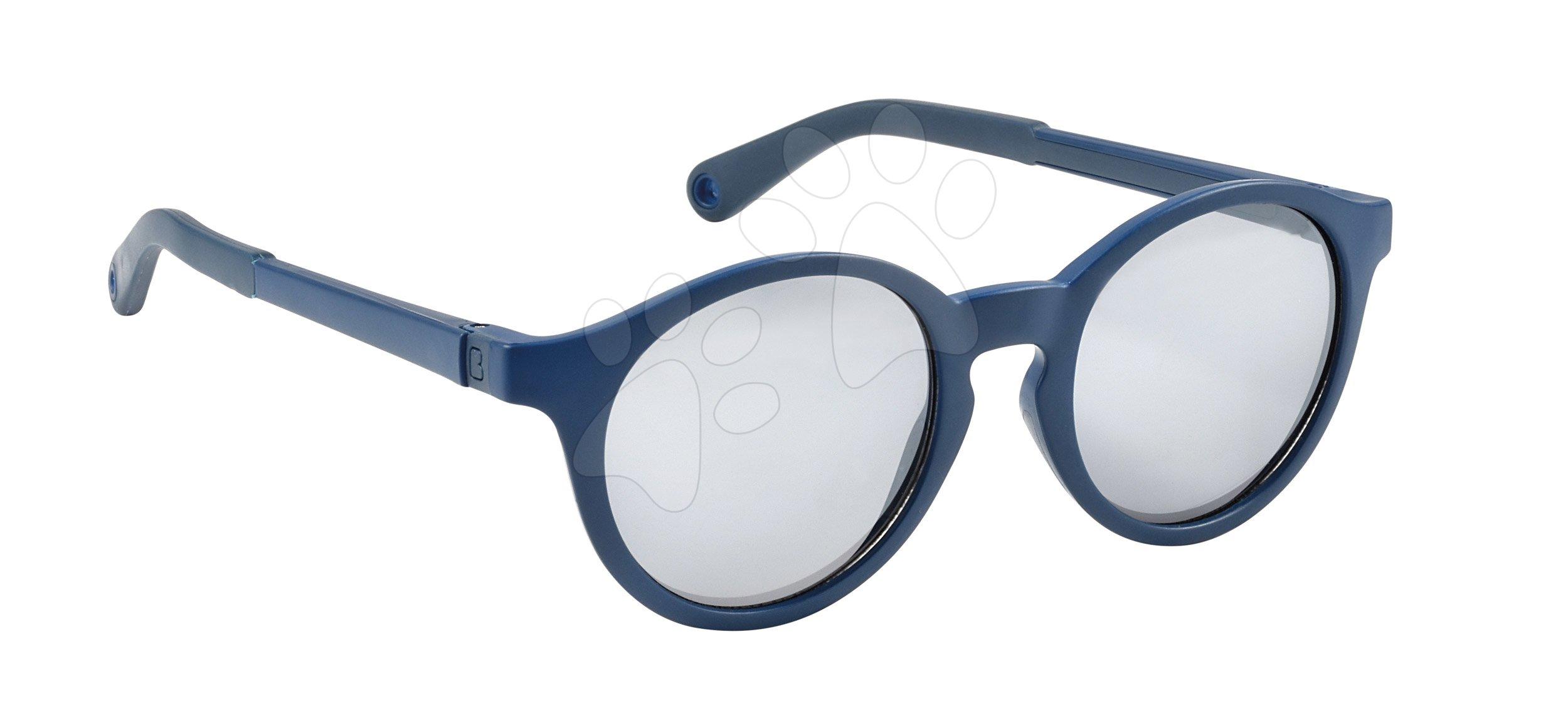 Slnečné okuliare pre deti Beaba Baby L Blue Marine od 4-6 rokov modré