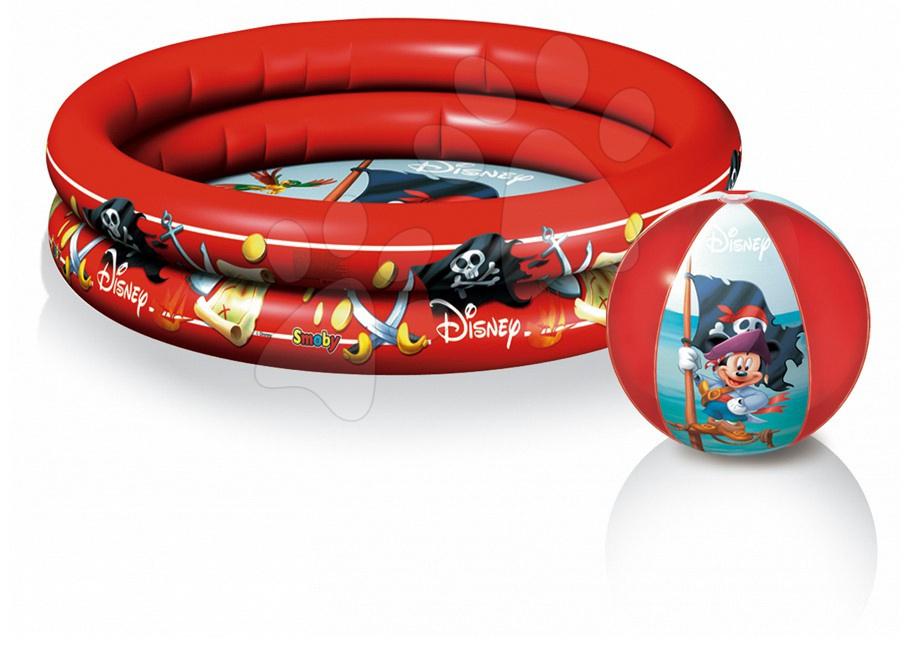 Nafukovací bazén Mickey Mouse  Mondo dvoukomorový 100 cm s míčem