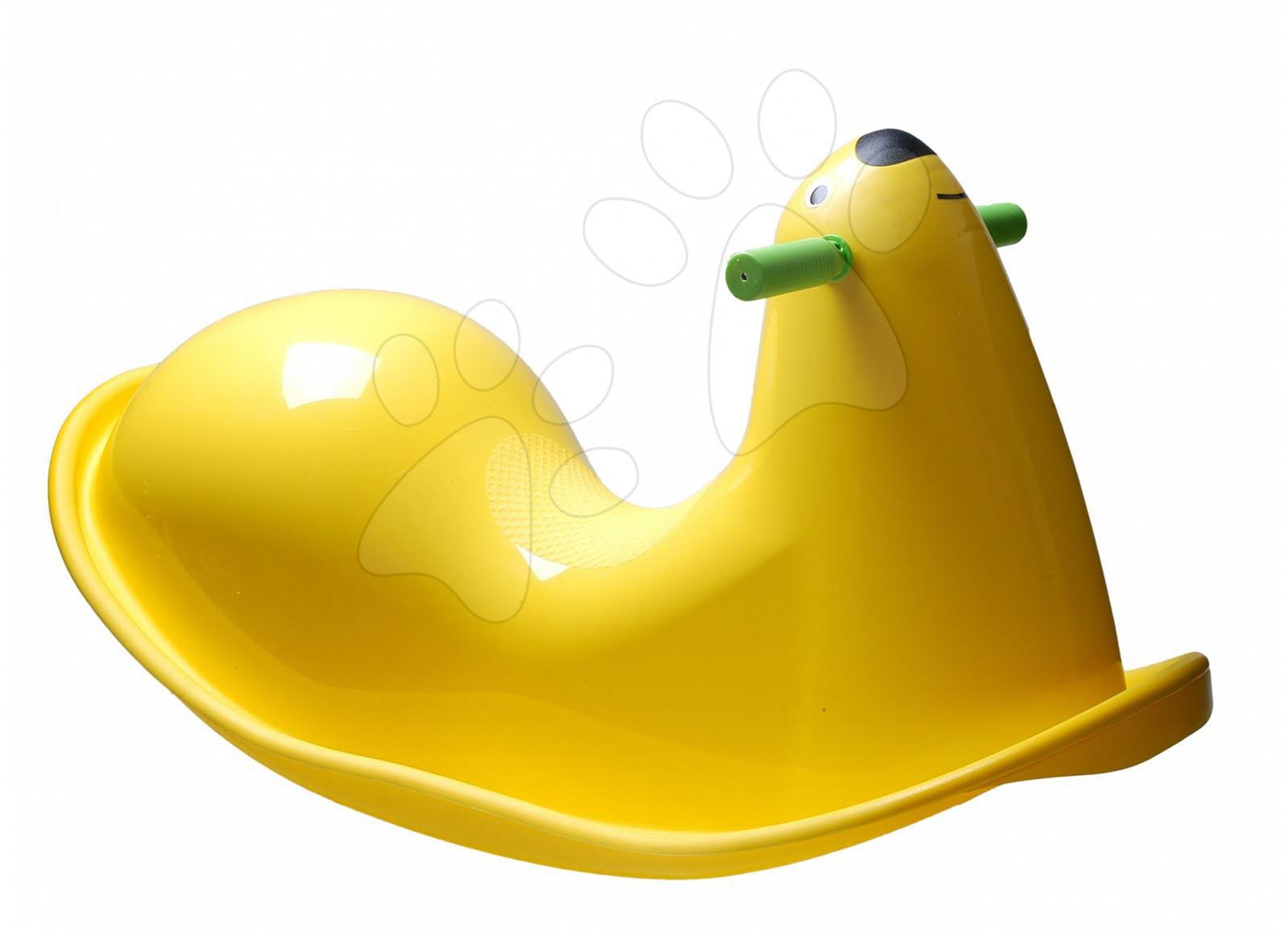 Hojdačka Tuleň Starplast žltá od 24 mes