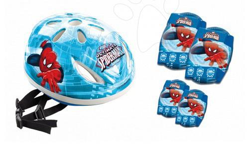 Staré položky - Prilba s chráničmi The Ultimate Spiderman Mondo