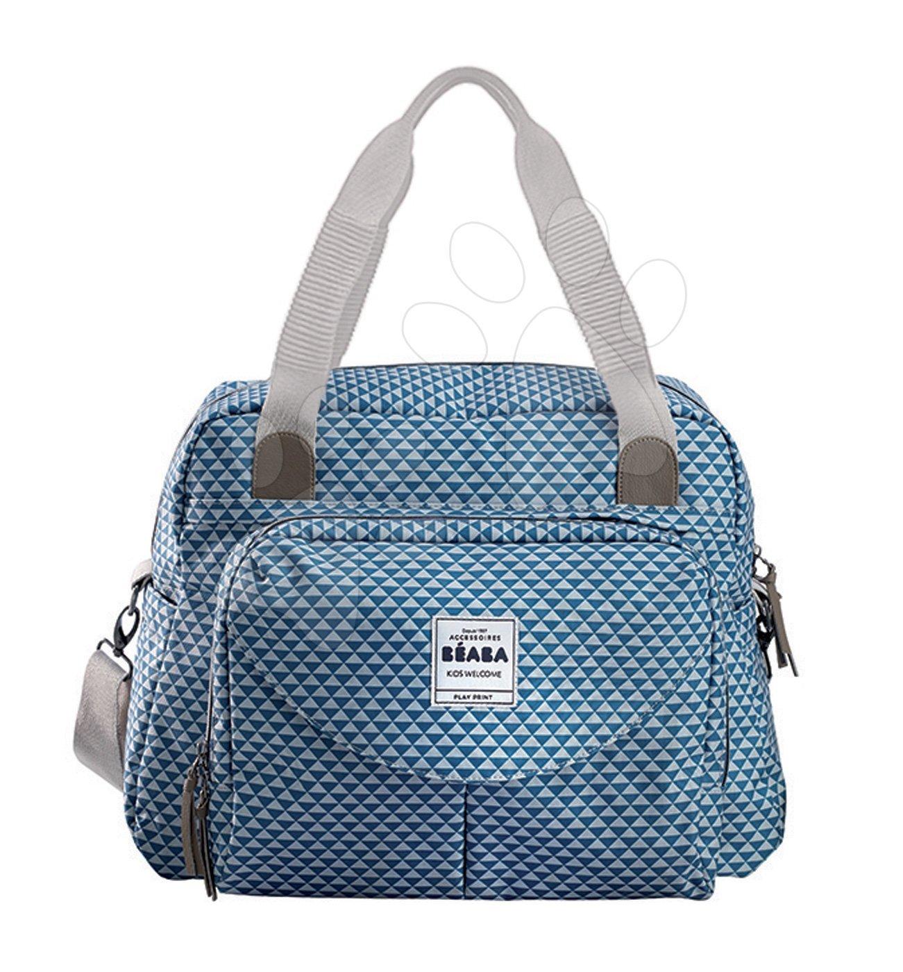 Previjalna torba za vozičke Beaba Geneva II kocke modra