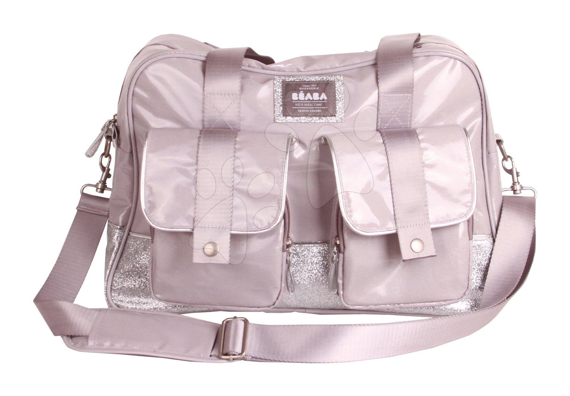 Previjalna torba za vozičke Beaba Monaco srebrna