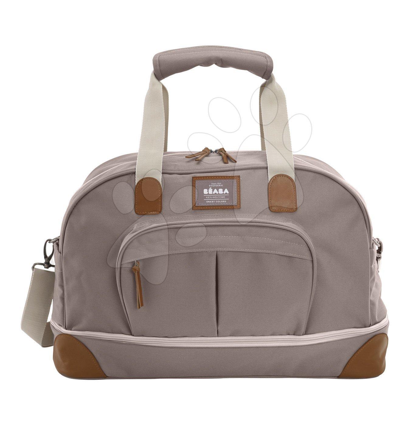 Cestovná prebaľovacia taška Beaba Amsterdam II Expandable hnedá 2 veľkosti