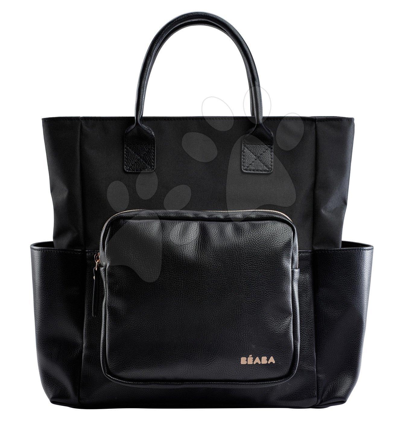 Previjalna torba za vozičke Kyoto Beaba črna/rožnato zlata