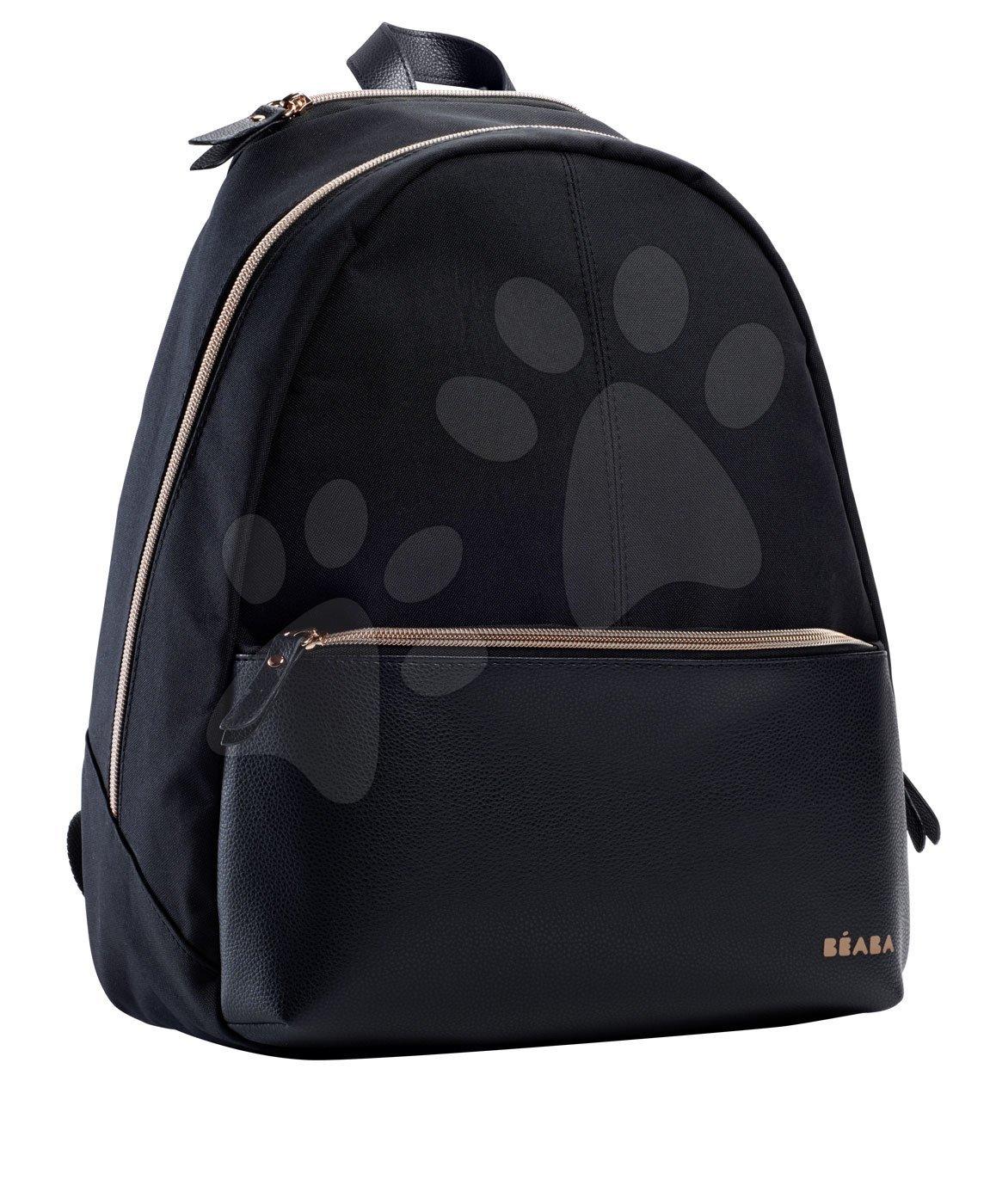Torba s opremom za previjanje za kolica Beaba San Francisco backpack black/pink gold BE940237