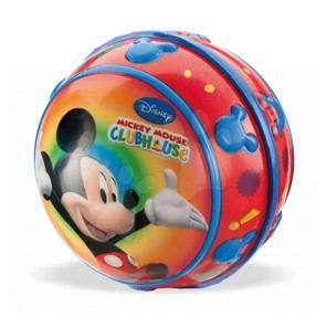 Míč Mickey Mouse Mondo měkký s reliéfem 10 cm