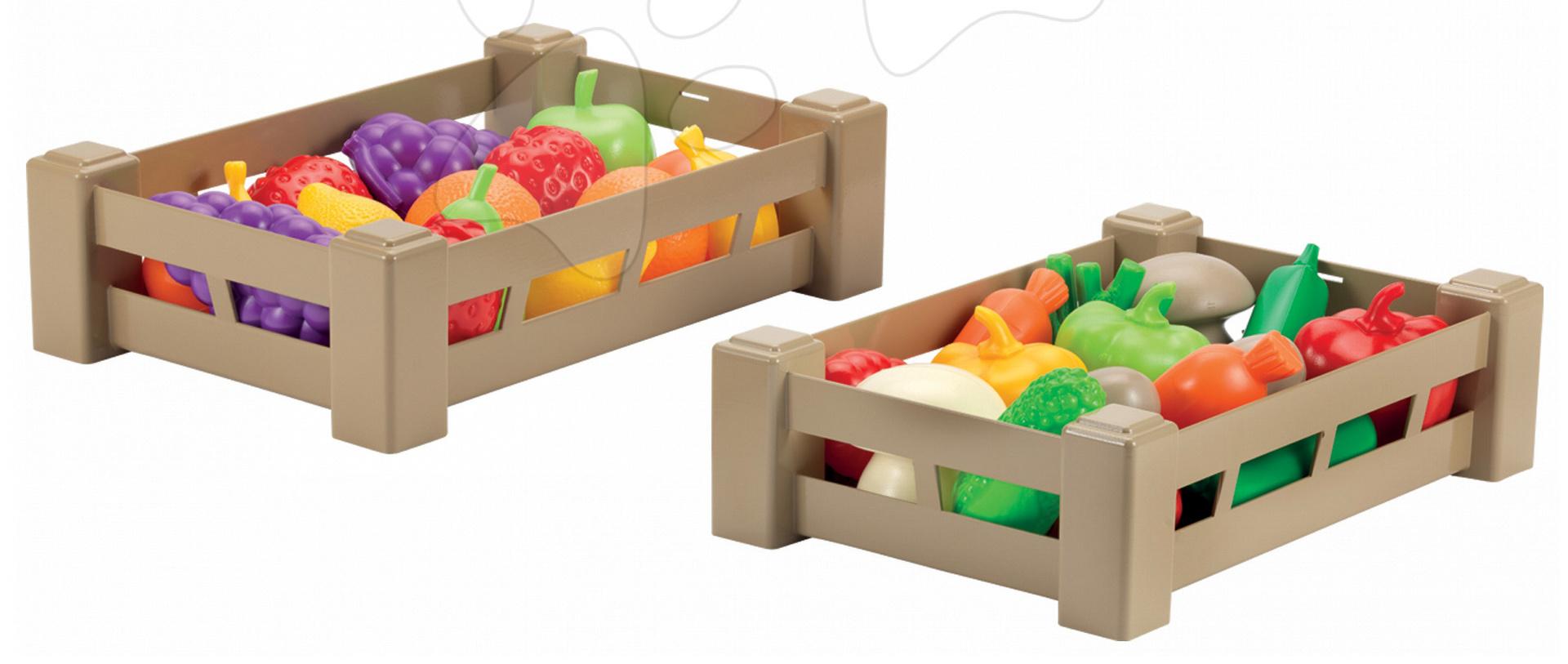 Écoiffier ovocie a zelenina v krabičke 948