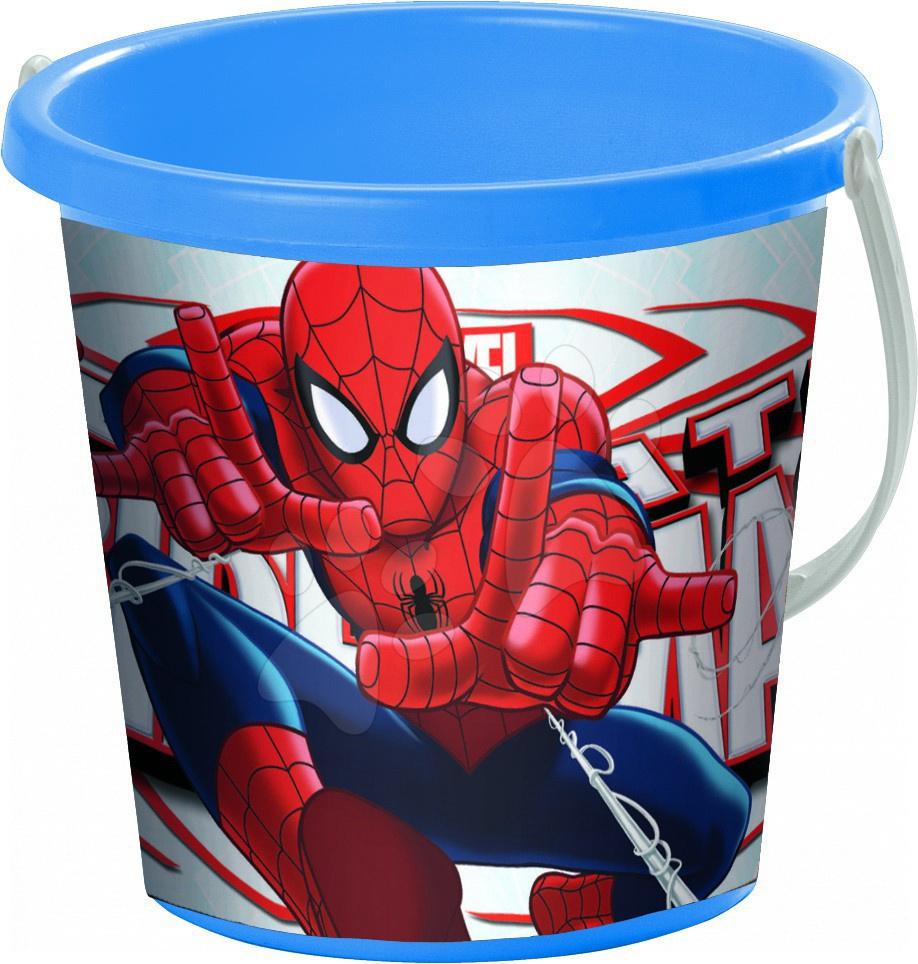 Staré položky - Vedro Spiderman Mondo 19 cm