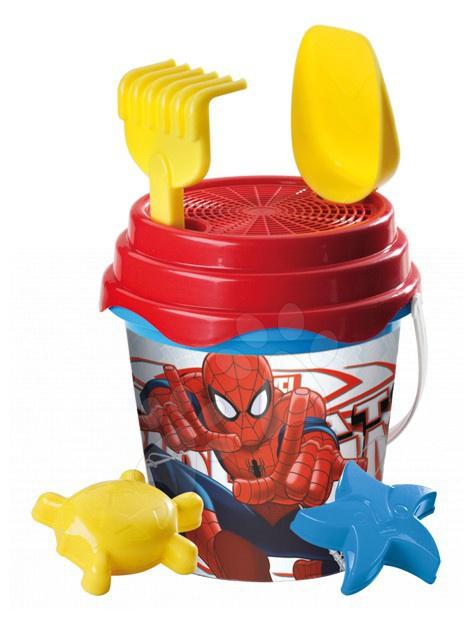 Staré položky - Vedro set Spiderman Mondo 6 dielov (výška 14 cm) od 18 mes