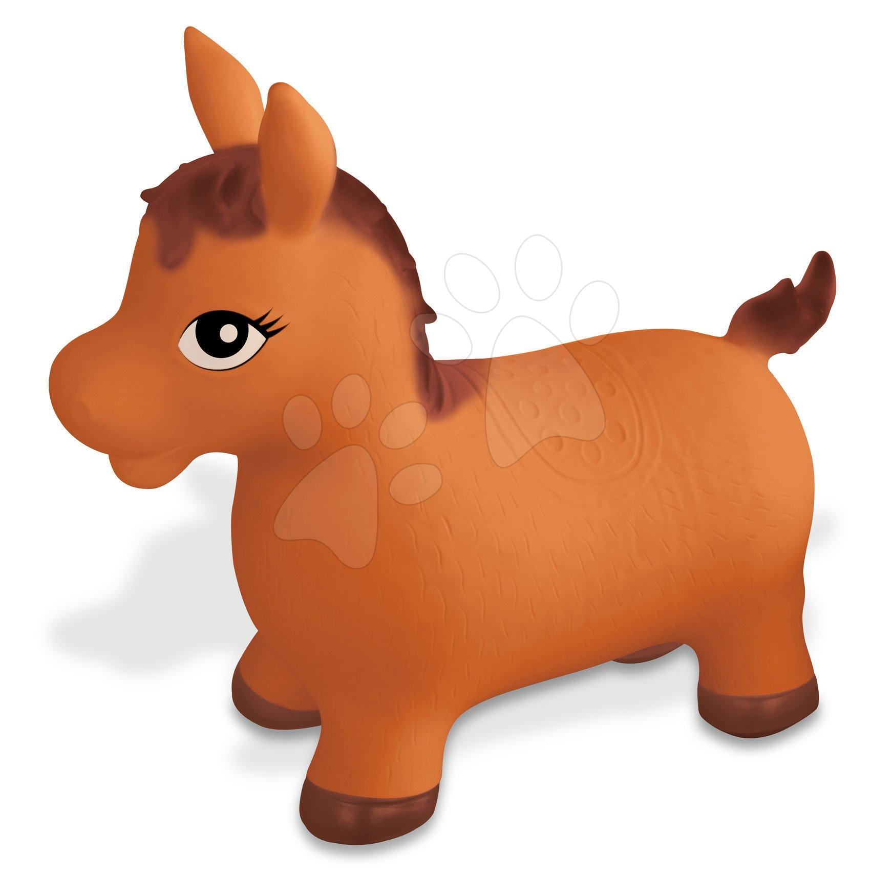 Koník na skákání Horse Ride on Mondo gumový hnědý od 18 měsíců