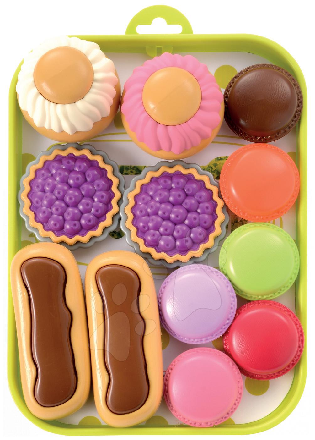 Set de prăjituri Bubble Cook Écoiffier pe tavă 8 bucăţi de la 18 luni