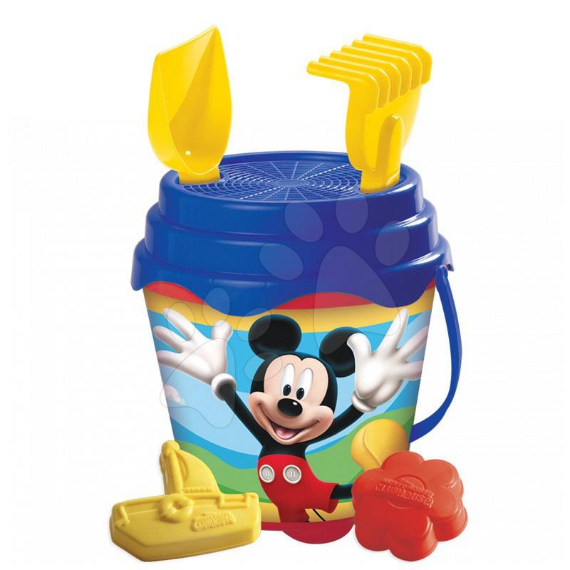 Staré položky - Vedro set Mickey Mouse Mondo 16 ks, 19 cm