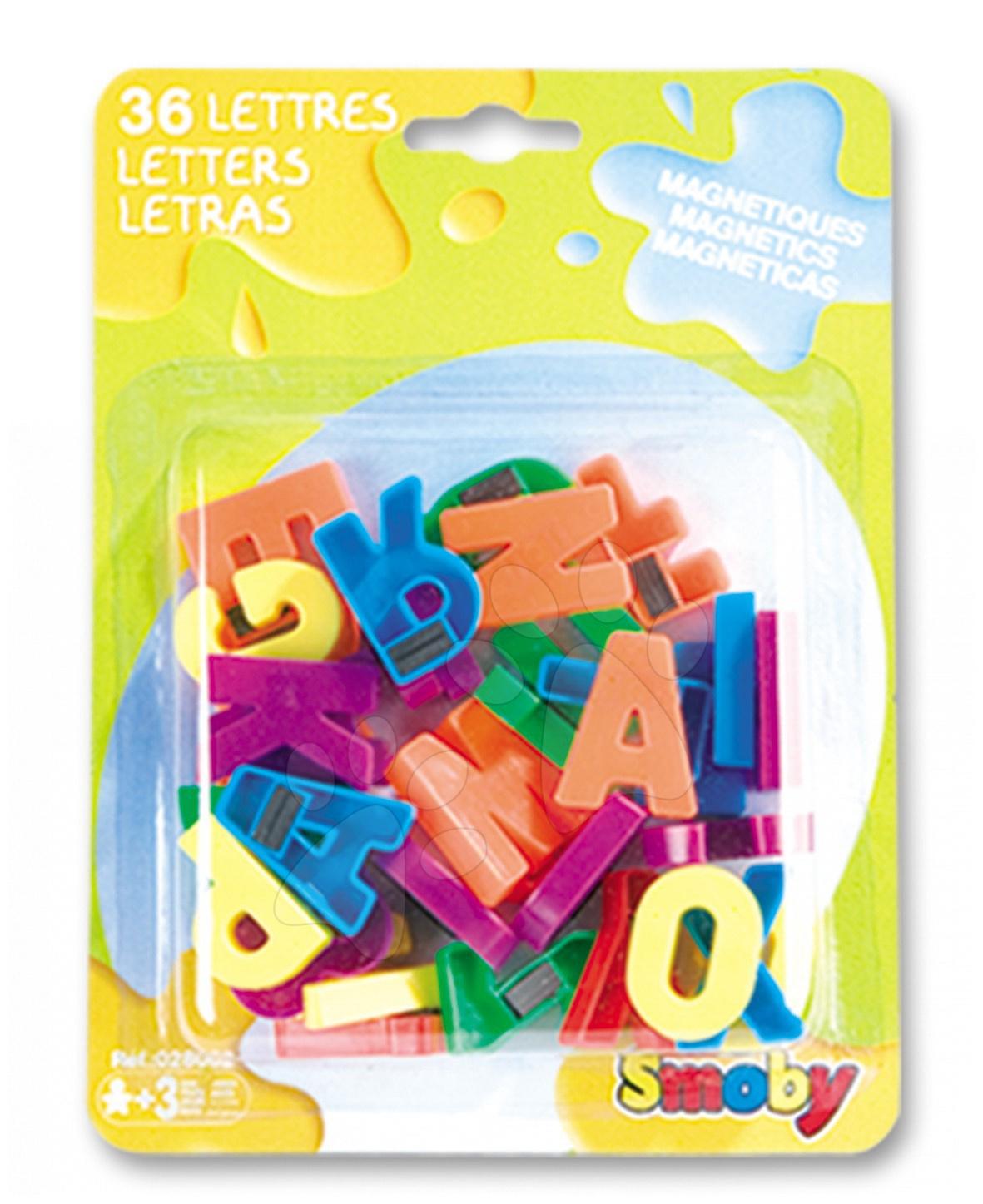 Magnetky pre deti - Magnetky Smoby veľké písmená 36 kusov