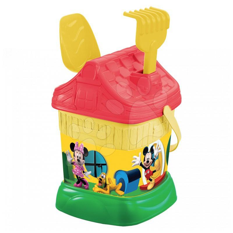Kbelík domek set Minnie a Mickey Mouse Mondo