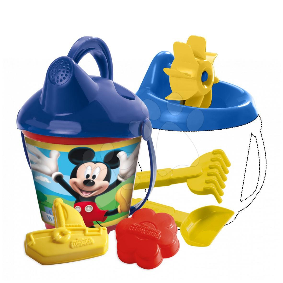 Staré položky - Vedro set s kombinovaným mlynom Mickey Mouse Mondo 14 cm