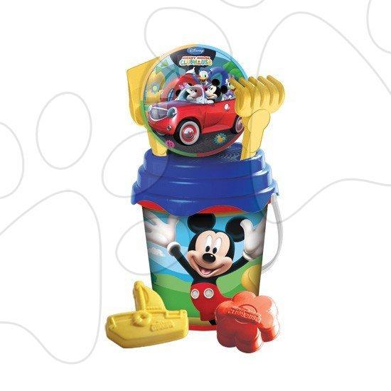 Kbelík set s míčem Mickey Mondo 7 ks 17 cm