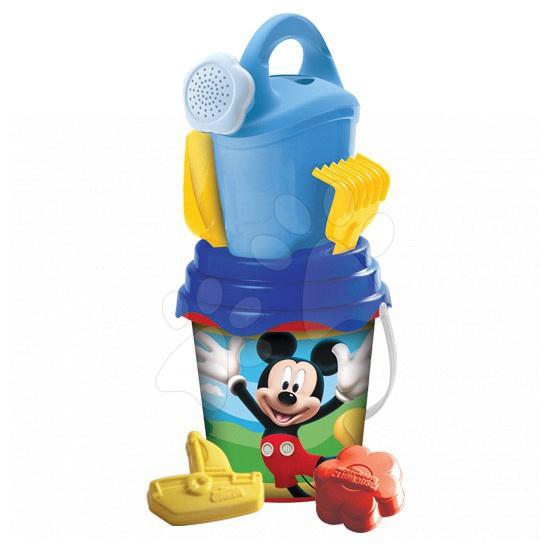 Vedierka do piesku - Vedro set Mickey Mouse Mondo s krhlou 7 dielov (výška 19 cm) od 18 mes