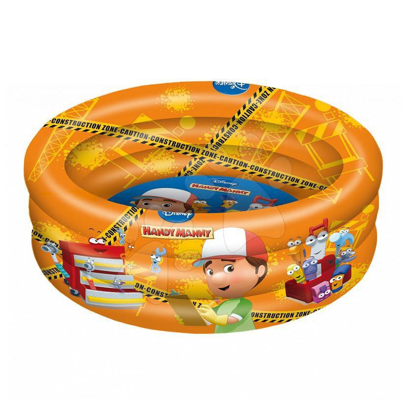 Nafukovací bazén Handy Manny Mondo tříkomorový 100 cm od 10 měsíců