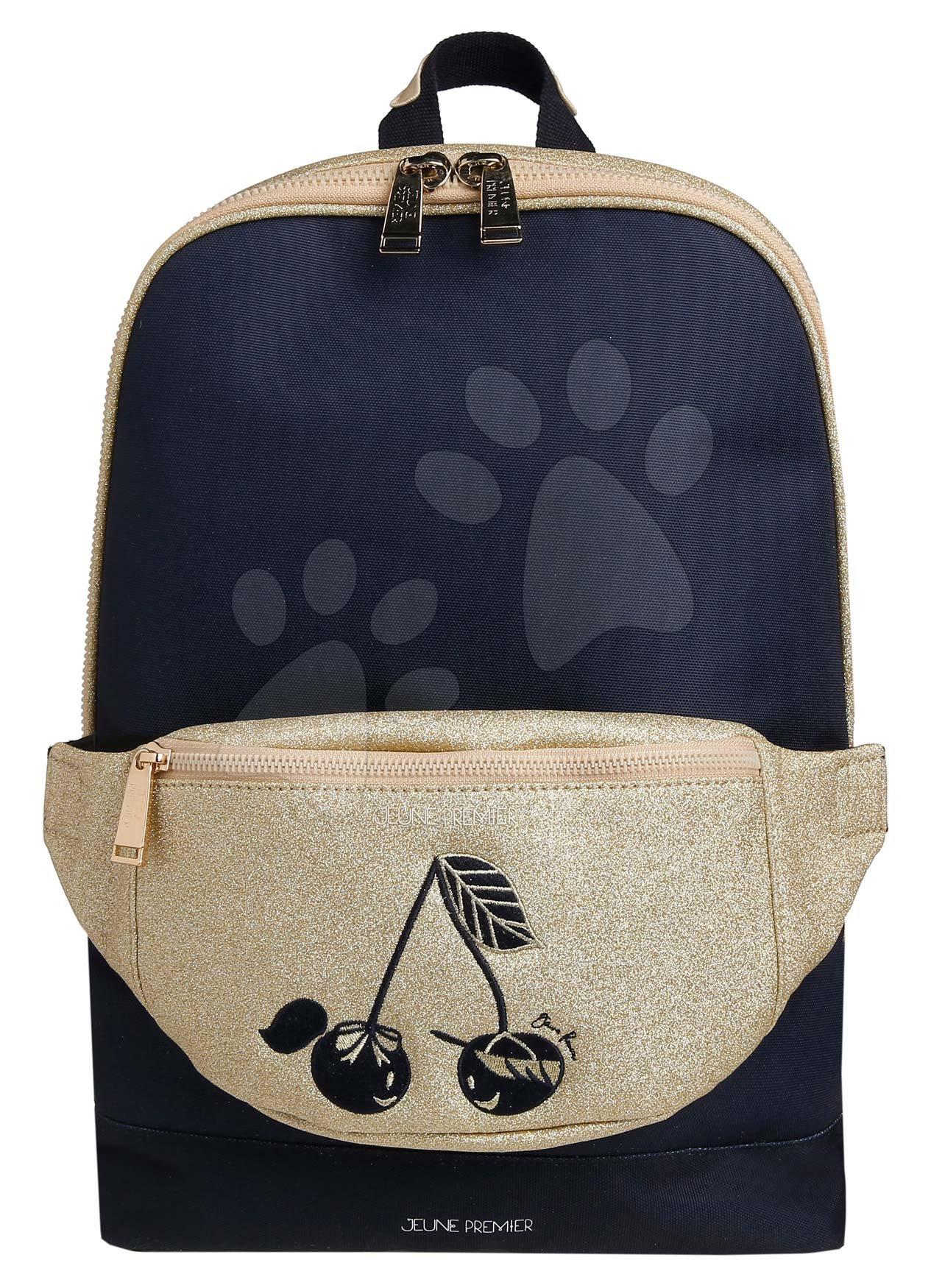 Školske torbe i ruksaci - Školská taška batoh Backpack Jackie Icons Jeune Premier ergonomický luxusné prevedenie 39*27 cm JPBF021167