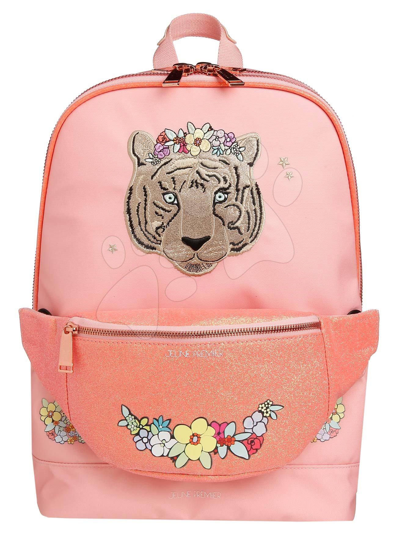 Školske torbe i ruksaci - Školská taška batoh Backpack Jackie Tiara Tiger Jeune Premier ergonomický luxusné prevedenie 39*27 cm JPBF021177