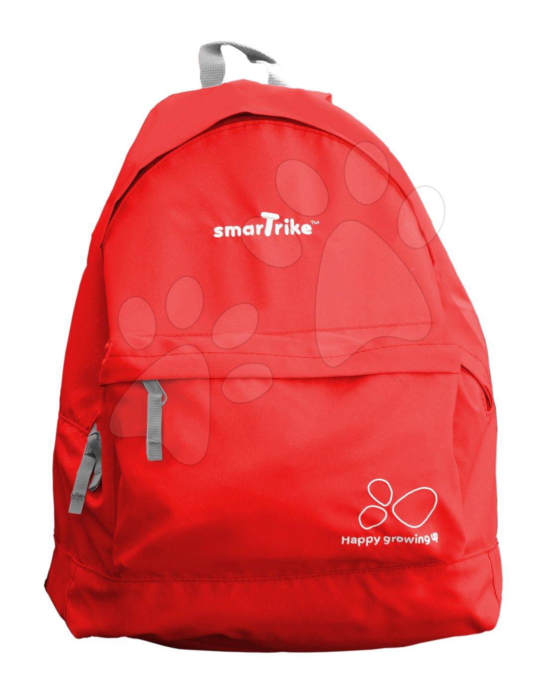 Dámský batoh do města smarTrike extra lehký na zip červený BP150