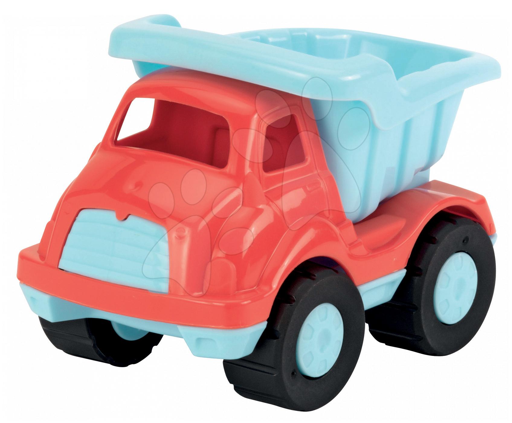 Nákladné autá - Nákladné autíčko Écoiffier dĺžka 16 cm červené od 18 mes
