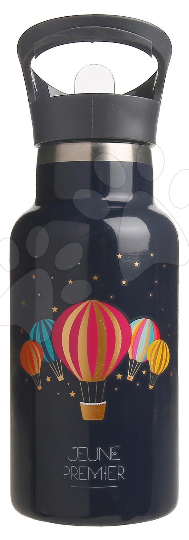 Školská fľaša na vodu Drinking Bottle Balloons Jeune Premier ergonomická luxusné prevedenie 17*7 cm