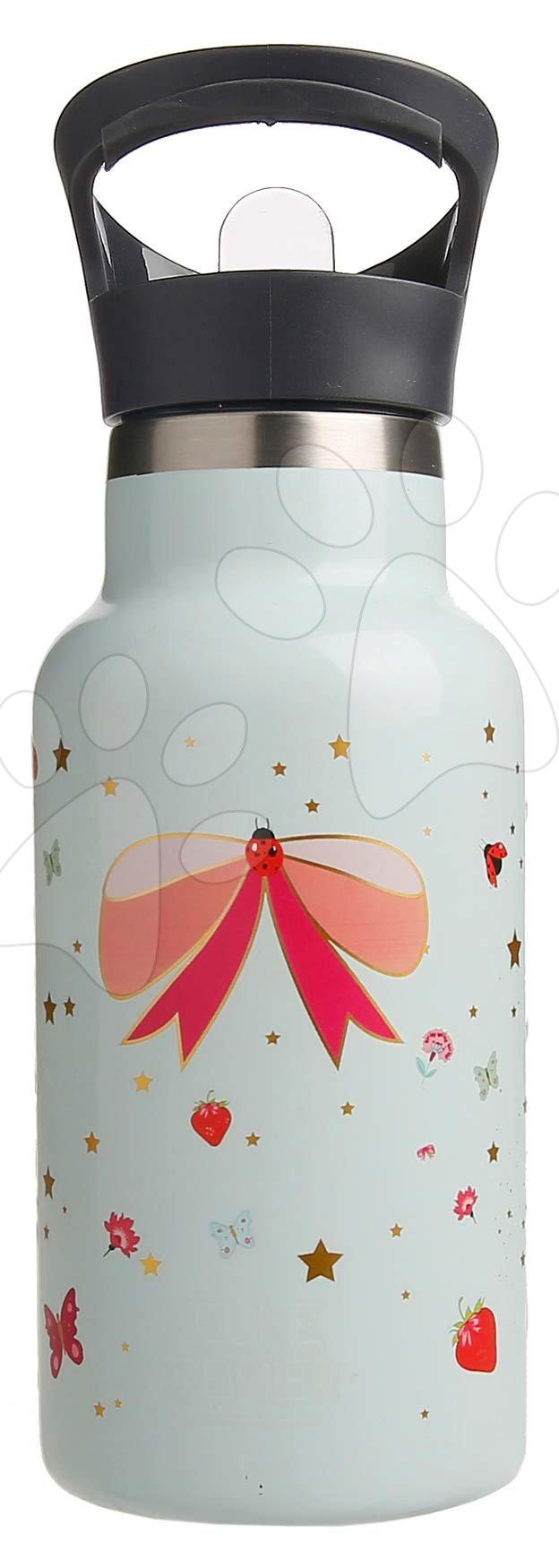 Školská fľaša na vodu Drinking Bottle Ladybug Jeune Premier ergonomická luxusné prevedenie 17*7 cm