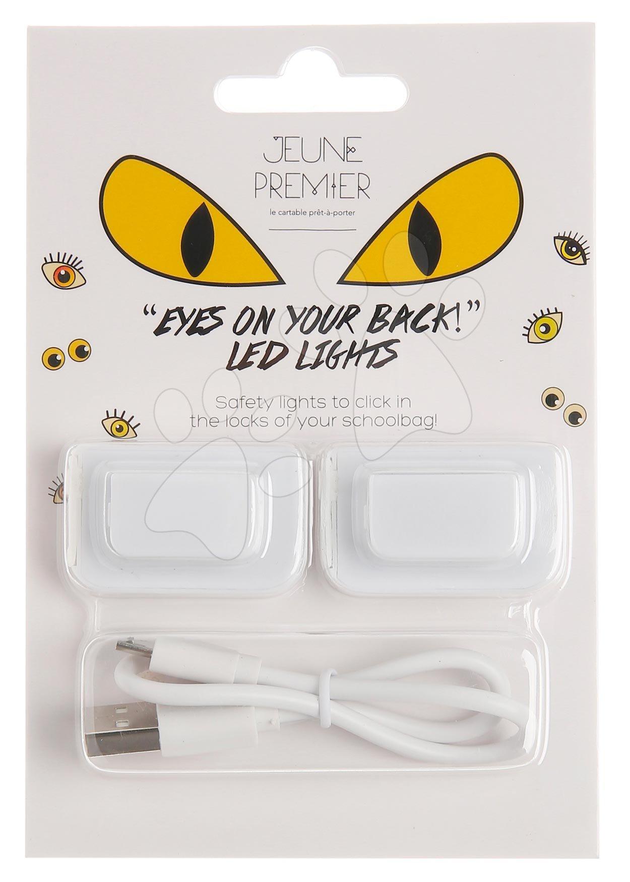 LED svetlá do spony na aktovku Led lights Eyes Jeune Premier luxusné prevedenie