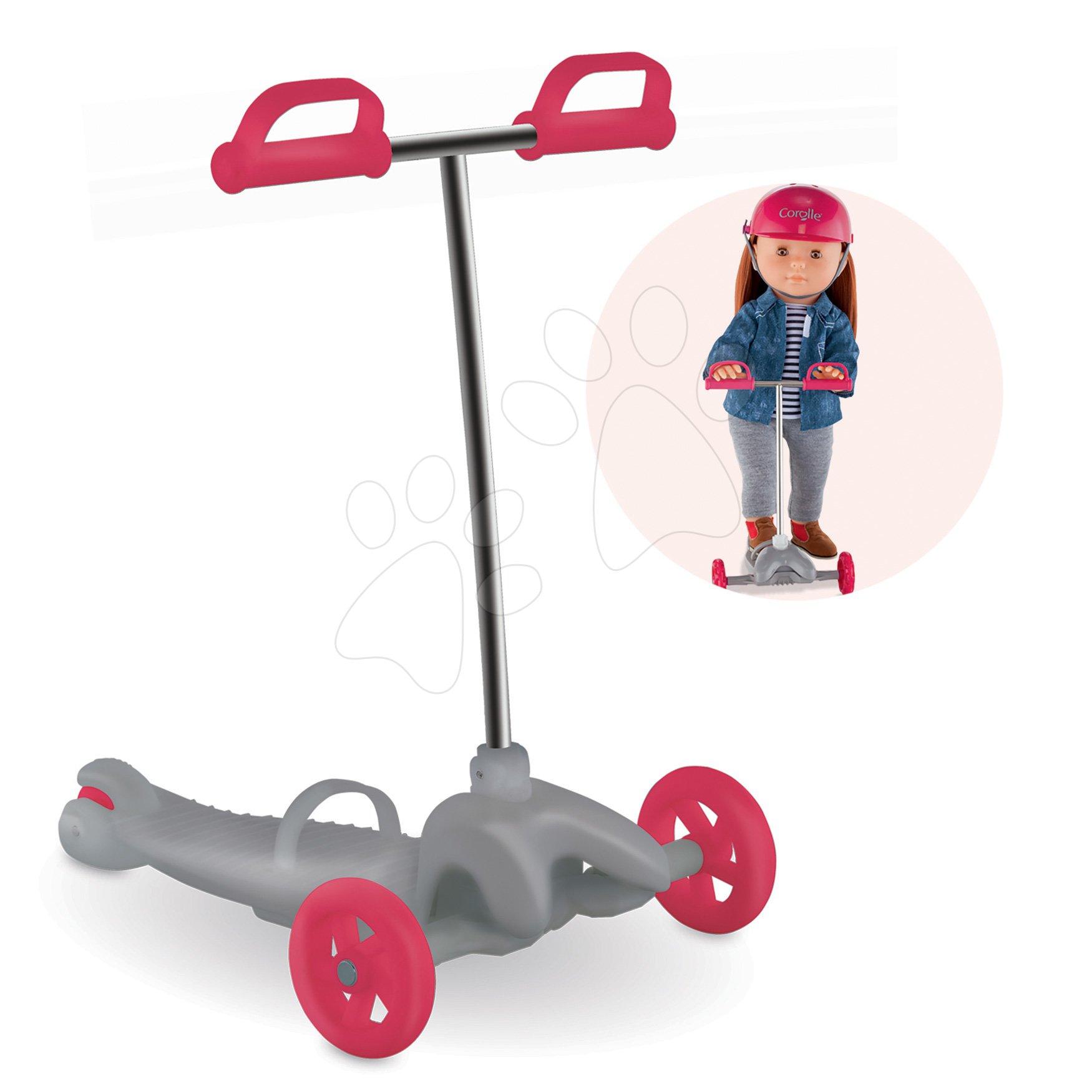 Kolobežka Scooter Ma Corolle pre 36 cm bábiku od 4 rokov