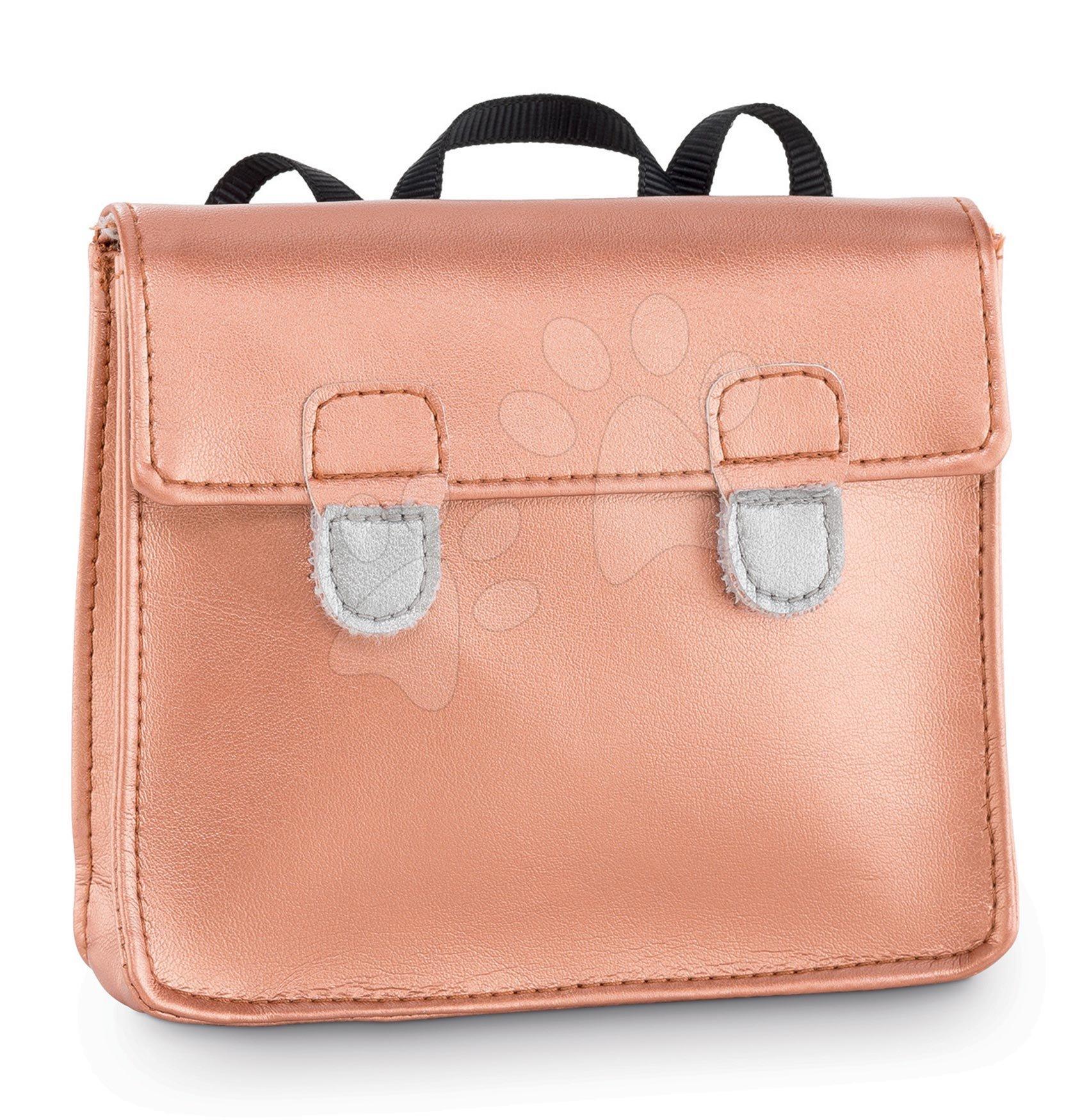 Školská aktovka School Bag Golden Pink Ma Corolle pre 36 cm bábiku od 4 rokov