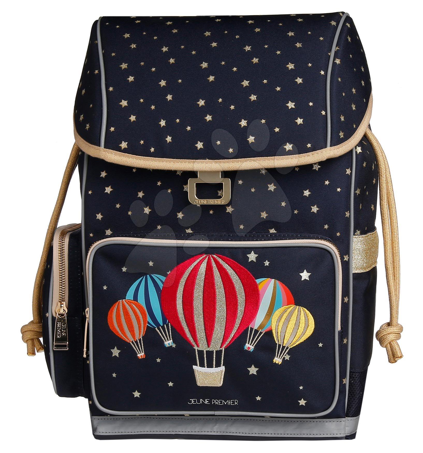 Školske torbe i ruksaci - Školský batoh veľký Ergomaxx Balloons Jeune Premier ergonomický luxusné prevedenie 39*26 cm JPERX21165