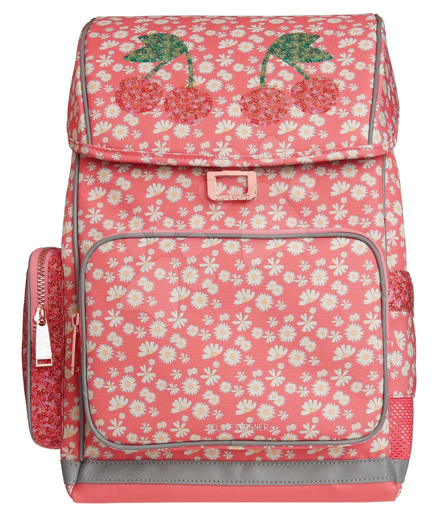 Školske torbe i ruksaci - Školský batoh veľký Ergomaxx Miss Daisy Jeune Premier ergonomický luxusné prevedenie 39*26 cm JPERX21166