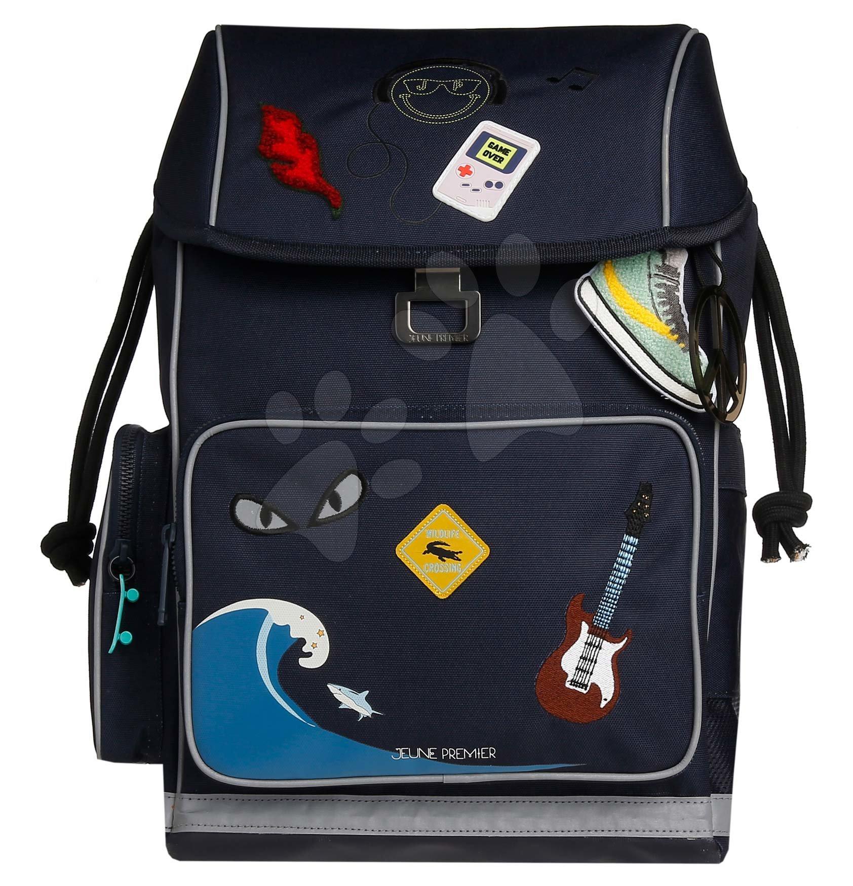Školske torbe i ruksaci - Školský batoh veľký Ergomaxx Mr. Gadget Jeune Premier ergonomický luxusné prevedenie 39*26 cm JPERX21169