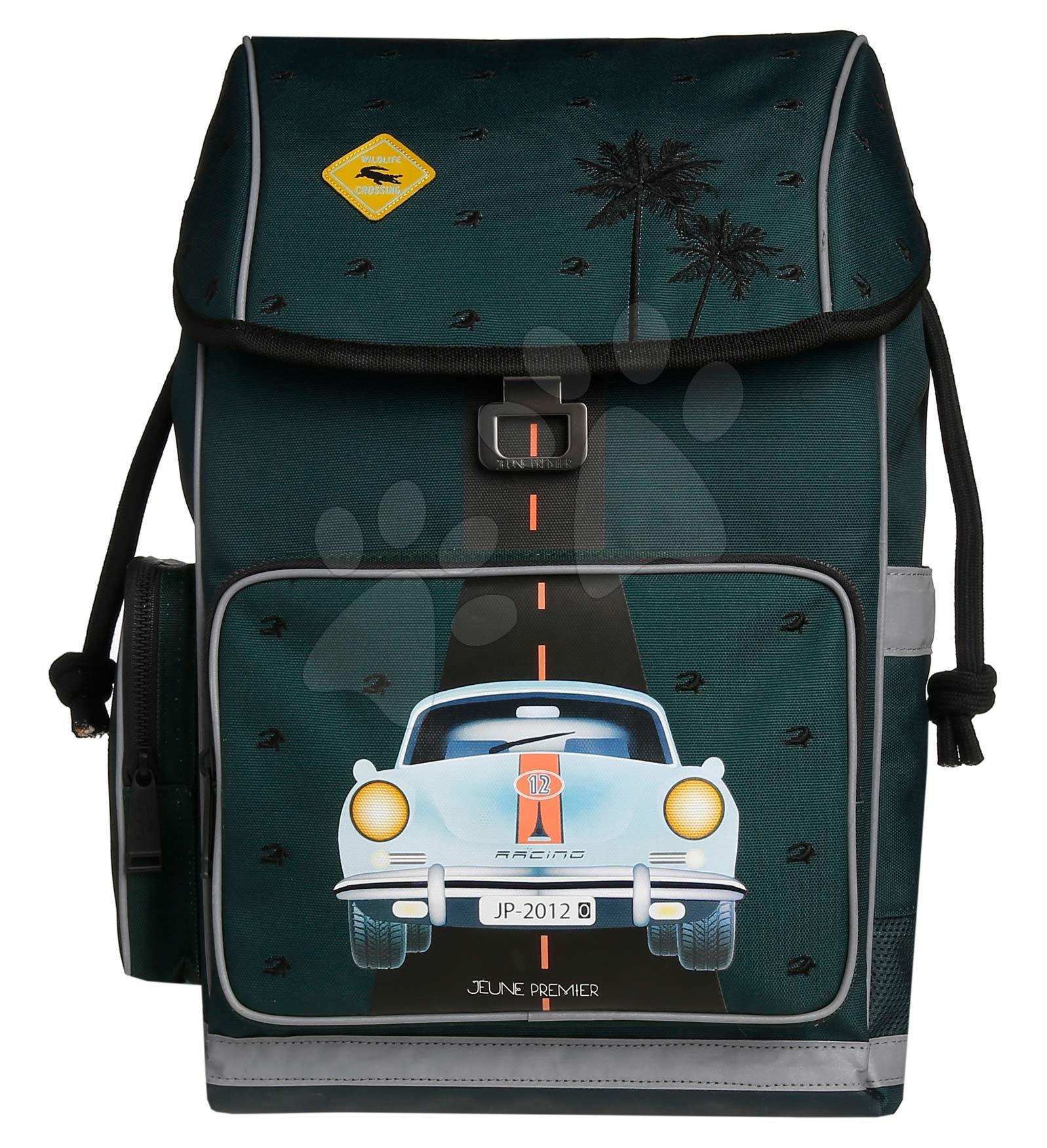 Školske torbe i ruksaci - Školský batoh veľký Ergomaxx Monte Carlo Jeune Premier ergonomický luxusné prevedenie 39*26 cm JPERX21170