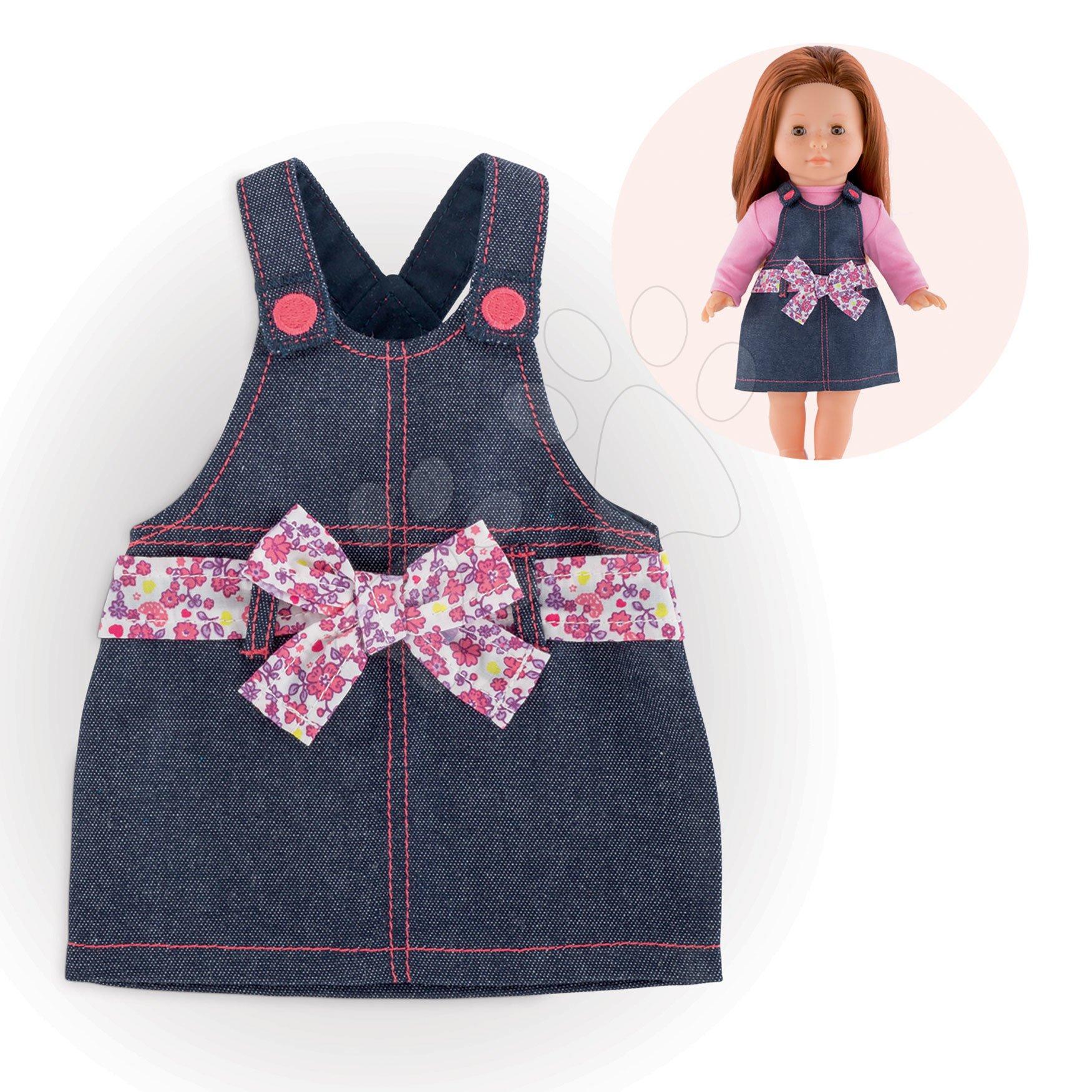 Oblečenie Overall Dress Denim Ma Corolle pre 36 cm bábiku od 4 rokov